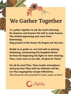 Thanksgiving Songs For Kids, Thanksgiving Prayer, Together Lyrics, Kids Songs, Blessing, Psalms, Read More, Wish, Wicked
