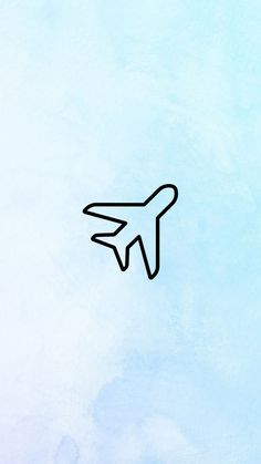 Blue Highlights, Story Highlights, Trendy Wallpaper, Aesthetic Iphone Wallpaper, Plane Icon, Instagram Background, Insta Icon, Instagram Logo, Insta Pictures