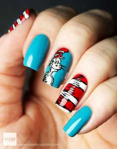 Seuss Would Rove Igit Al Dozen Does Books Zoya Cat In The Hat Featuring Nail Polish Rocky Snow White And Carmen Via Work Play