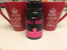 Keep calm and refill my Krill - with KRILL BOOST from BRAINEFFECT