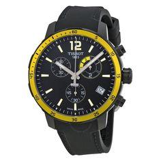 31a4fb56d3b Tissot Quickster Soccer World Cup Black Dial Men s Watch T0954493705700
