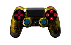 PS4Controller-YellowFire (1) | Flickr - Photo Sharing! #moddedcontrollers #customcontrollers #ps4controllers #playstation4 #dualshock4 #PS4 #customps4controllers #moddedps4controllers