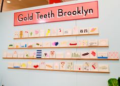 National Stationery Show 2014 Recap Featuring Gold Teeth Brooklyn via Oh So Beautiful Paper: http://ohsobeautifulpaper.com/2014/06/national-stationery-show-2014-part-11/ | Photo: Nole Garey for Oh So Beautiful Paper #NSS2014