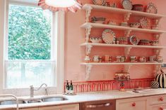 MacKenzie-Childs Farm House Kitchen | Karina Style Diaries