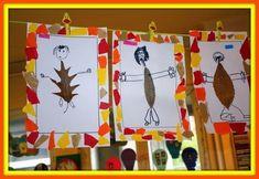 Imagen - 26 - Alumno On Fall Arts And Crafts, Autumn Crafts, Autumn Art, Nature Crafts, Autumn Activities For Kids, Fall Preschool, Art Activities, Kindergarten Art Lessons, Art Lessons Elementary