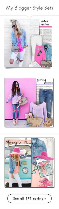"""My Blogger Style Sets"" by lilmissmegan ❤ liked on Polyvore featuring Nicki Minaj, rag & bone, Acne Studios, Victoria's Secret PINK, Chloé, Converse, Karen Walker, Kate Spade, GetTheLook and Spring"