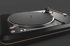 Technics SL 1200 Mk II Redesign & Reengineering Design Concept