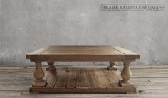 NEW Balustrade Coffee Table | Do It Yourself Home Projects from Ana White