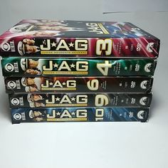 Pick One or More DVD Box Set: JAG The TV Series Seasons - Judge Advocate General #CBSParamountNetworkTelevision Dvd Set, Me Tv, Home Free, Pick One, Tv Series, Seasons, Box, Movies, Snare Drum