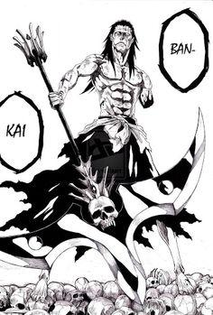 Kenpachi's ban-kai |Bleach... all hell is gonna break lose