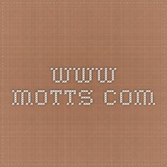 www.motts.com - Contacting Mott's will get you more than just applesauce. The company also makes fruit snacks and all kinds of different fruit and veggie juices.
