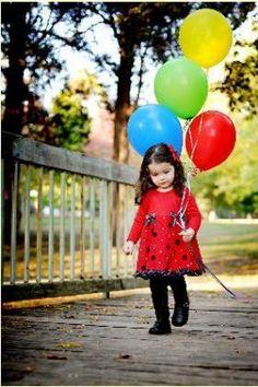 Walkin with dem ballons!