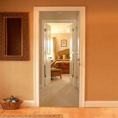 Bedroom 2 - Trompe l'oeil wallpaper