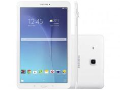 """Tablet Samsung Galaxy Tab E T560 8GB 9,6"""" Wi-Fi - Android 4.4 Proc. Quad Core Câm. 5MP + Frontal"""
