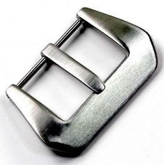 24mm GPF Style Brushed Screw In Buckle for Panerai watch straps - http://www.specialdaysgift.com/24mm-gpf-style-brushed-screw-in-buckle-for-panerai-watch-straps/