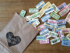 Tickets I Wertmarken BABY (42 Tickets) inkl. Tüte