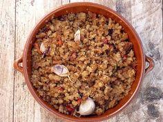 Migas de pan - Rico no, ricote Huevos Fritos, Fall Recipes, Acai Bowl, Oatmeal, Vegetables, Breakfast, Food, Breads, Pastel