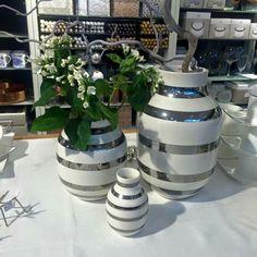 Kahler silver vaser