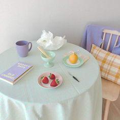 Deco Pastel, Pastel Room, Pastel Colors, Pastel Decor, Pastel Blue, Pastels, Korean Aesthetic, Blue Aesthetic, Japanese Aesthetic