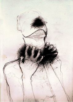 Kunst Zeichnungen: Kill me already - Awesome Art Pins Arte Horror, Horror Art, Abstract Canvas, Oil Painting On Canvas, Painting Abstract, Art Du Croquis, Art Noir, Dark Drawings, Tumblr Art Drawings