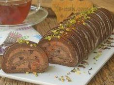 Pişmeyen Rulo Pasta Mini Tart, Diy Food, Truffles, Chocolate Cake, Tiramisu, Deserts, Dessert Recipes, Yummy Food, Beef
