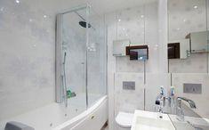 Идеи дизайна маленькой ванной комнаты - Фото Дизайн интерьера