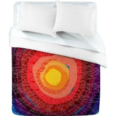 DENY Designs Raven Jumpo Tie Die Madness Duvet Cover, Queen by DENY Designs. $180.24. Color-Top: Full color | Color-Bottom: White. Fabric: Ultra soft, 100-Percent polyester microfiber. Metal snaps for closure. Closure: Metal snaps seen in snap closure view. Manufacturing: 6 color dye process, custom printed for every order. Turn your basic, boring down comforter into the super stylish focal point of your bedroom with this DENY Designs duvet cover. Custom printed when you order i...