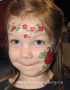 face painting | Face Painting Cheek Art. Cheek Paint for kids. Cheek art picture ...