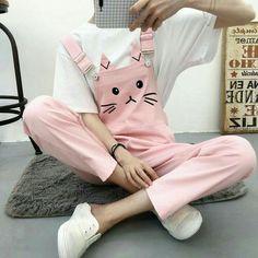 Cute Girl Outfits, Pink Outfits, Cute Casual Outfits, Skirt Outfits, Harajuku Fashion, Kawaii Fashion, Cute Fashion, Fashion Black, Emo Fashion
