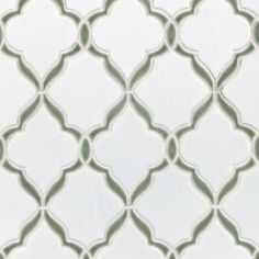 Victorian Vine Porcelain Mosaic - 13 x 17 - 100498823 Backsplash Arabesque, Stone Backsplash, Stone Tile Flooring, Grey Flooring, Stone Look Tile, Stainless Steel Faucets, Craftsman Bathroom, Victorian Tiles, Artistic Tile