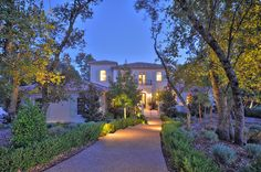 French Provencal Villa Style. Kevin Patrick O'Brien Architect, Inc., Granite Bay, Lee Construction Luxury Homes