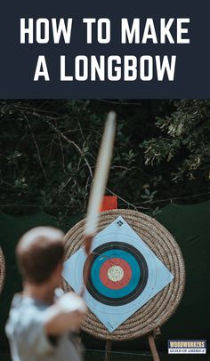 For many, traditional archery is a passion. For others it's just plain fun! Either way, learning how to make a longbow is something that nearly anyone can do, even without an extensive shop or lots of woodworking experience. This story will provide you with an overview of how to make a longbow.