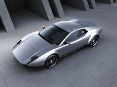 De Tomaso Pantera MP188 concept car.   lessonator.com