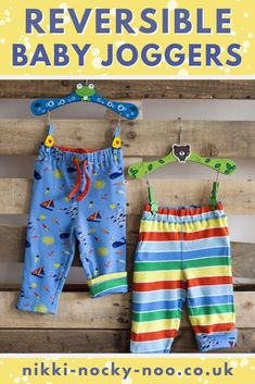 Reversible jogging bottoms for babies - two outfits in one! Cute outfits for babies. Discover outfit inspiration for toddlers. Organic Baby Clothes, Unisex Baby Clothes, Cute Baby Clothes, Baby Boy Outfits, Kids Outfits, Cute Outfits, Winter Outfits, Summer Outfits, Baby Girl Fashion