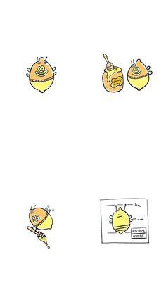 Ios Design, Cartoon Wallpaper, Cute Wallpapers, Cute Drawings, Lemonade, Posters, Phone, Disney, Illustration