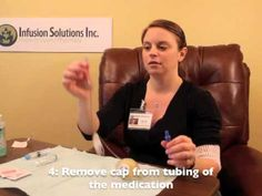 ▶ How to infuse an elastomeric pump - YouTube great for home health RNs with pts needing iv therapy at home.
