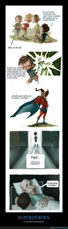 SUPERHÉROES - no necesitan superpoderes