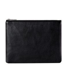 Status Anxiety Anti Heroine Clutch Black find it and other fashion trends. Online shopping for Status Anxiety clothing. The anti-heroine black clutch . Leather Clutch, Calf Leather, Clutch Bag, Black Wallet, Chain Belts, Princess Polly, Women's Accessories, Zip Around Wallet
