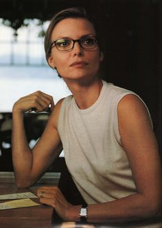 Michelle Pfeiffer as Claire Spencer in the movie: What Lies Beneath.