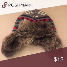 Kids Hanna Andersson winter hat! ☃ The cutest thing ever. Size small fits boys 9-18 months. 😍 Worn about 4x. Neither of my boys likes to wear hats. 😁 Hanna Andersson Accessories Hats