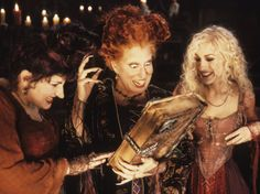 Kathy Najimy, Bette Midler and Sarah Jessica Parker star in Hocus Pocus as the Sanderson sisters, three 17th-century witches who are brought...