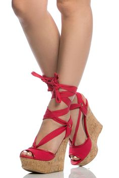 new product 729af d3114 Red Woven Wrap Around Cork Wedges   Cicihot Wedges Shoes Store Wedge  Shoes,Wedge Boots,Wedge Heels,Wedge Sandals,Dress Shoes,Summer Shoes,Spring  Shoes,Prom ...