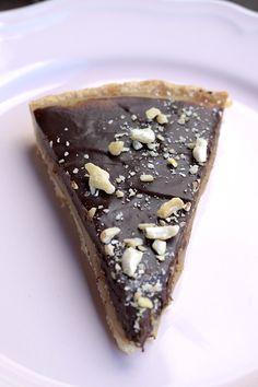 Karamell-Schokoladentarte aus dem Thermomix® – Foto: Nicole Stroschein