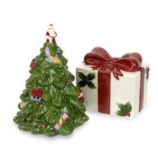 Spode® Christmas Tree Salt and Pepper Shaker Set - Bed Bath & Beyond