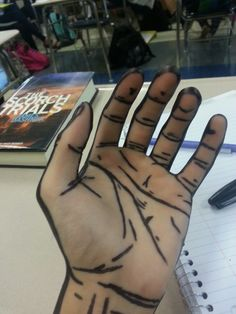leadhooves: xclockworkresonancex: rpg2692: ammnontet: noahtheskeleton: Drew on my hand today borderhands the hands among us The walking hands I wanna draw on myself and that will be my halloween costume but IDK where to begin and what to use…. I kinda don't like the idea of using sharpie but I also don't want it to just fade throughout the day :<
