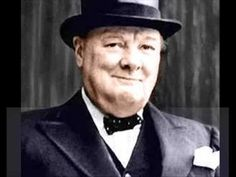 "▶ Winston Churchill Speech ""We Shall fight on the beaches, we shall never surrender"" - YouTube"
