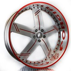 """US $5,995.00 26"""" FORGIATO LINEE WHEELS OLD SCHOOL CHEVYS CHVROLET DONKS 3PC FORGED RIMS 26"""""""