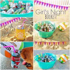 girls night bucket