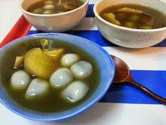 private citrus: 麻蓉湯圓 sesame mochi