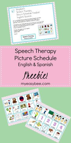 Spanish Articulation Smash Mats For Speech Therapy Visual Schedule Printable, Visual Schedule Preschool, Visual Schedule Autism, Schedule Cards, Kids Schedule, Visual Schedules, Daily Routine Chart For Kids, Charts For Kids, Daily Routines